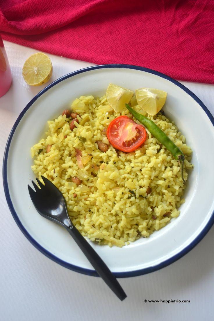 Lemon Poha | Lemon Aval Upma