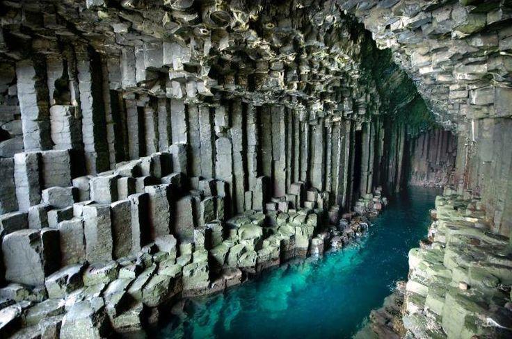Ecosse - La grotte de Fingal