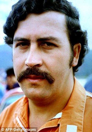 From a poor family in the town of Medellin, in Colombia's north-east, Escobar grew up to become the world's most wanted man