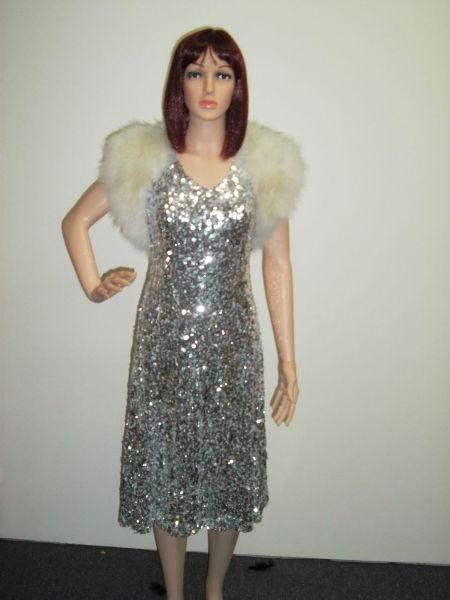 Silver Sparkle Flapper Costumes are available for hire at CostumesnMore Morayfield & Caboolture. www.costumesnmore.com.au/costumes-gallery/flapper-dresses