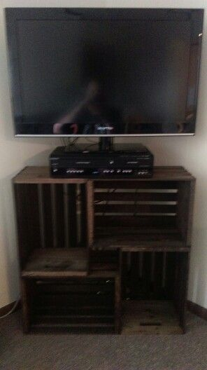 25 Best Ideas About Crate Tv Stand On Pinterest Small