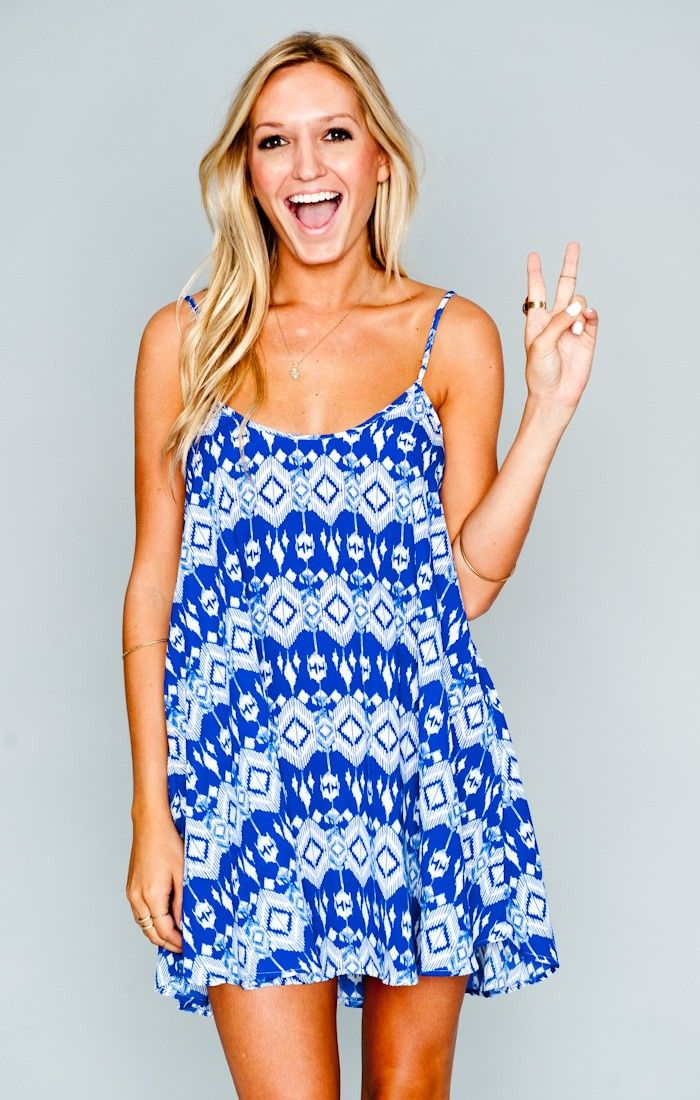 Show Me Your Mumu Bella Dress ~ Dakota Blue- funny to see one of my old dance friends modeling now!