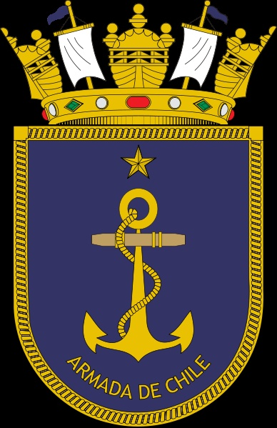 Coat of arms of the Chilean Navy