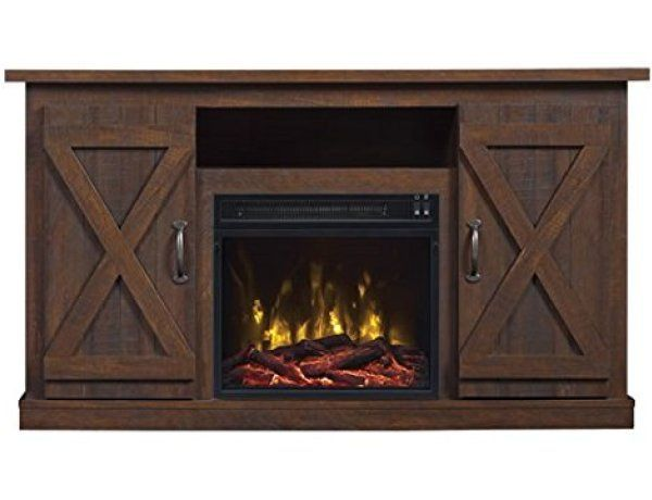 Comfort Smart Killian Electric Fireplace Tv Stand Review With