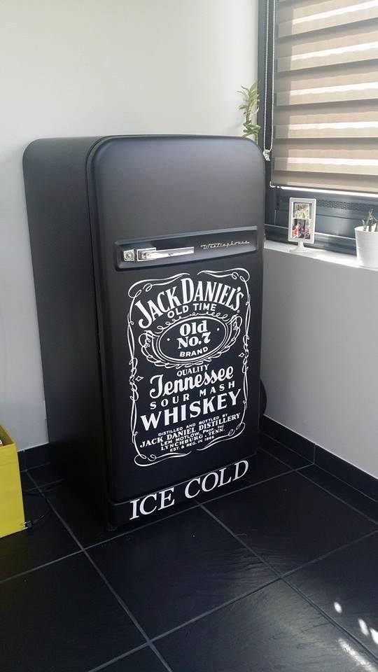 koelkast,mat zwart u0026quot;Jack Daniels u0026quot;   keuken   Pinterest   Jack o u0026#39;connell, Daniel o u0026#39;connell and