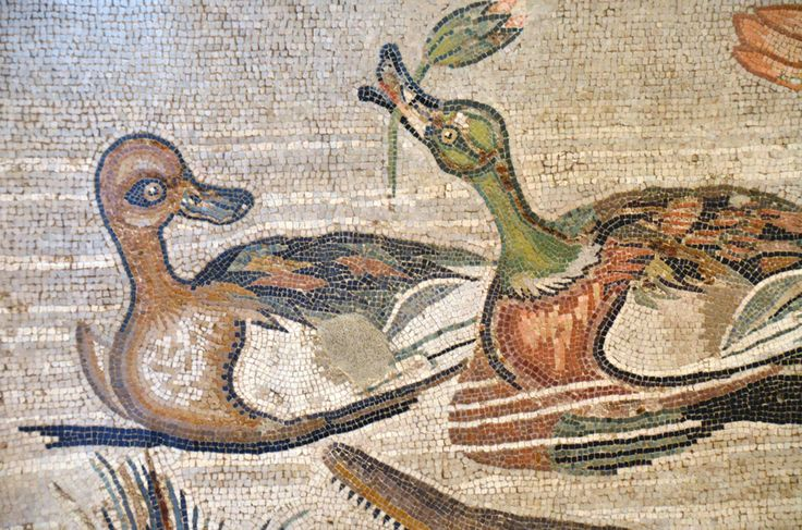 Mosaic from Villa of the Papyri, Herculaneum. Naples National Archeological Museum