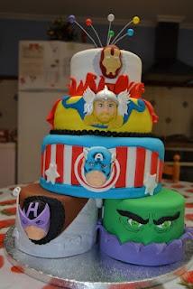 Dulce Salón: FIESTA LOS VENGADORES: Cakes Los Vengador, Children'S Parties, Los Vengadores, Parties, Superhero Parties, Dulce Salón, Fiestas Santi, Fiestas Los