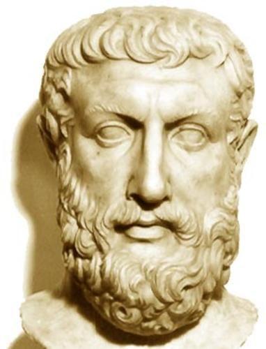 anaximandro -Filósofo, geómetra y astrónomo griego. Discípulo de Tales de Mileto, Anaximandro fue miembro de la escuela de Mileto, y sucedió a Tales en la dirección de la misma. Según parece, también fue un activo ciudadano de Mileto, y condujo una expedición a Apolonia (Mar Negro). Como político desempeñó cargos importantes y le fue confiada la misión de limitar la natalidad en Apolonia, una de las muchas colonias que debían resolver el problema de la superpoblación de las ciudades jónicas.
