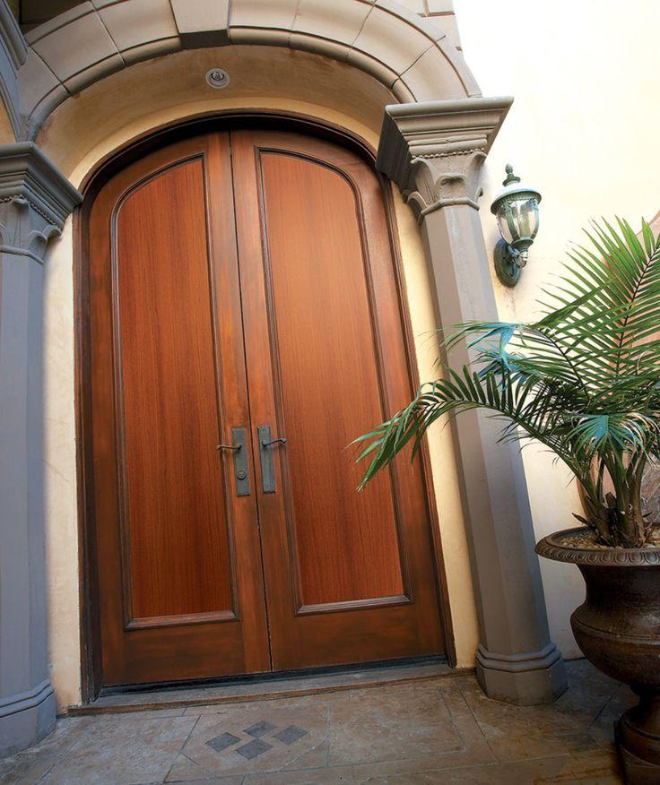 Barrington Mahogany Textured Fiberglass Door: 23 Best Masonite® Exterior Doors Images On Pinterest