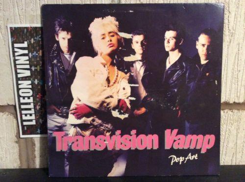 Transvision Vamp Pop Art LP Album Vinyl 255802-1 Pop Rock 80's Wendy James Music:Records:Albums/ LPs:Rock:Alternative