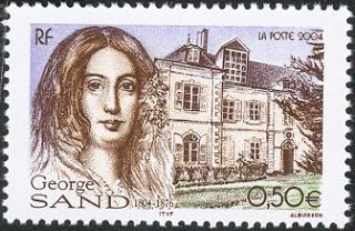Literary Stamps: Sand, George (1804 – 1876)