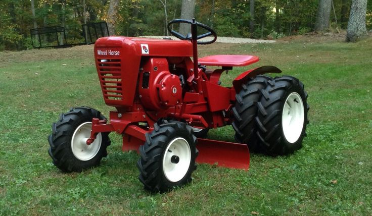 Wheel Horse Tractors : Best images about wheel horse on pinterest gardens