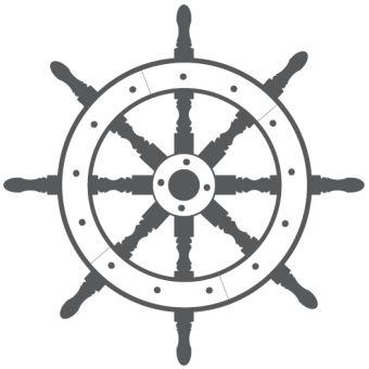 Ship Steering Wheel Free Vector