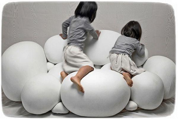 Nuage design du canap futuriste design for Canape nuage