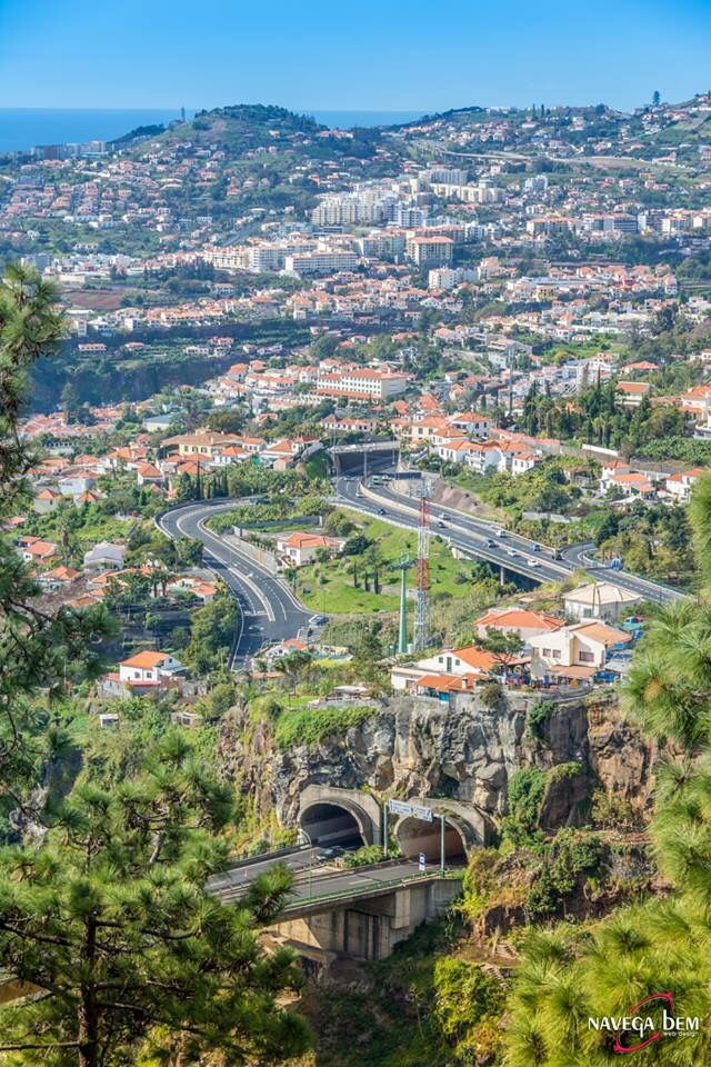Funchal tunels and motorways