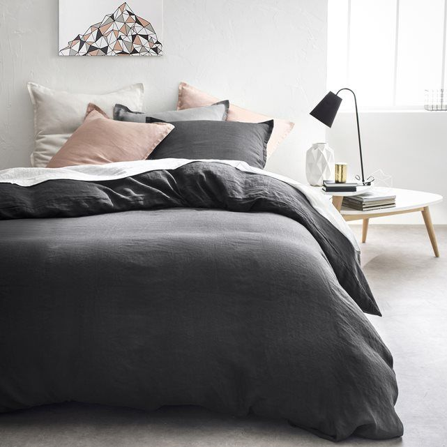Funda nórdica 100% lino lavado La Redoute Interieurs