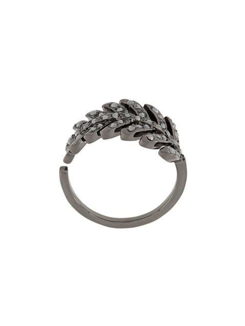 Shop+Federica+Tosi+'Leaf'+ring.