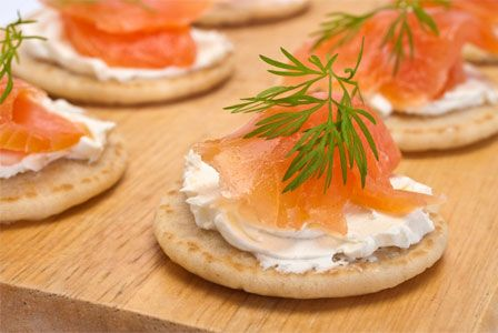 A blini recipe with 10 (including some vegan) toppings!