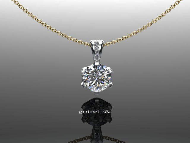 Diamond Pendant designed and handmade by Martin Gotrel