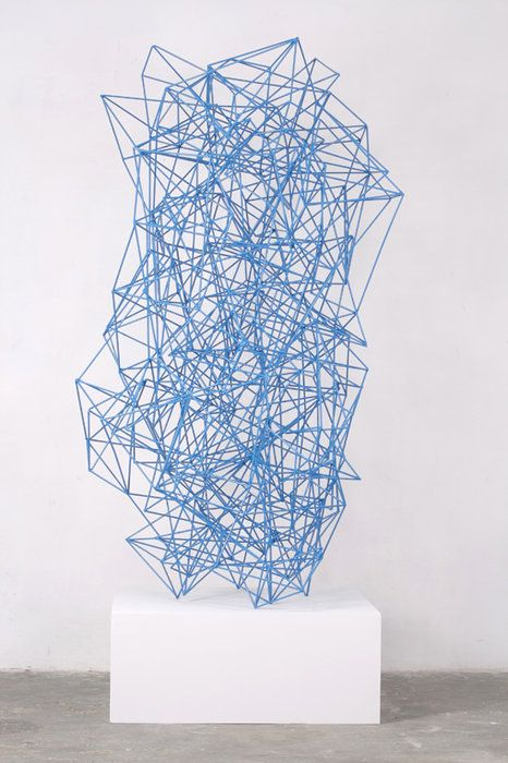 Dutch sculptor Henk Visch.