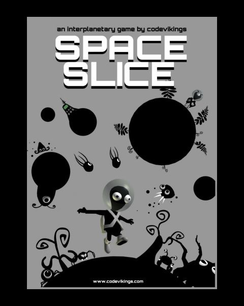 Space Slice is a hilarious action / platformer / adventure game starring Zyrth, the most unfortunate alien in the galaxy whose only concern is to have his spaceship repaired. Now available on FireFlower Games - http://fireflowergames.com/shop/space-slice/.