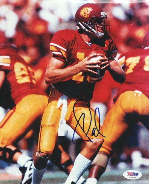 Carson Palmer Autographed 8x10 Photo USC PSA/DNA #S35164