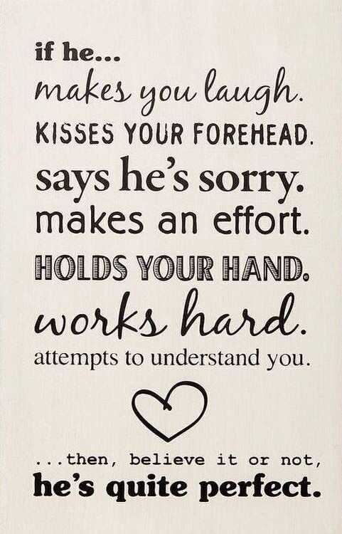 Trust me guys. EVERY woman likes being kissed on the forehead. It's interpreted…