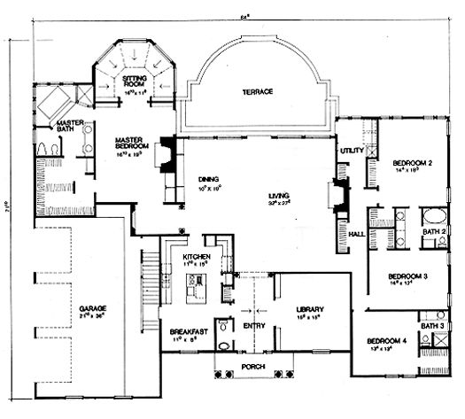 Master Bedroom Floor Plans Ranch With 4 Bedrooms Bing Images 419 Best Home On Pinterest Future House Dreams And Ideas