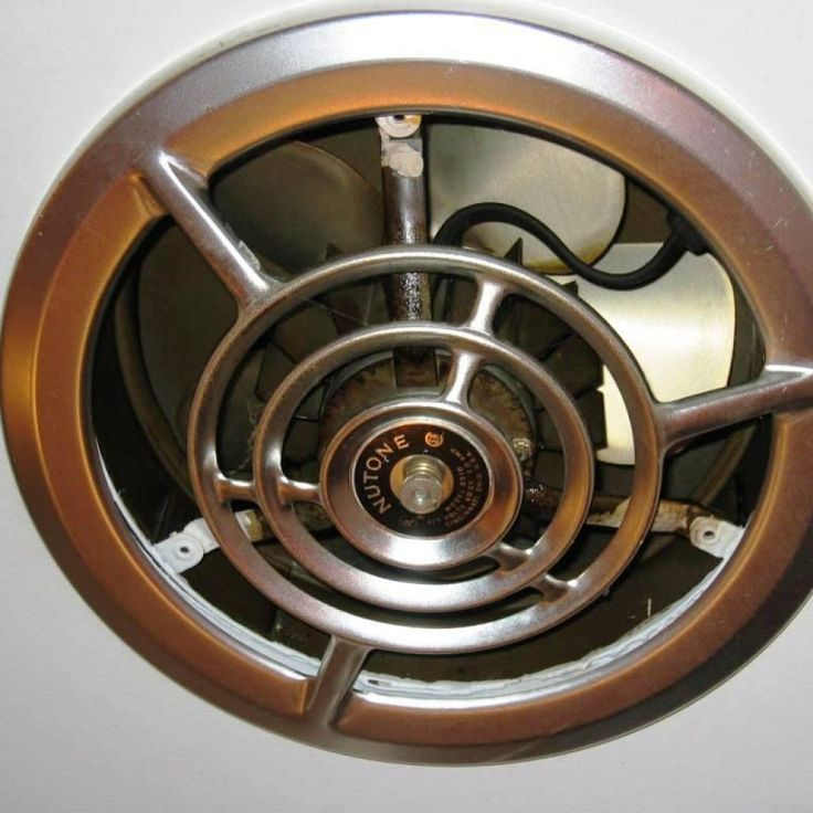 Vintage Through The Wall Kitchen Exhaust Fan