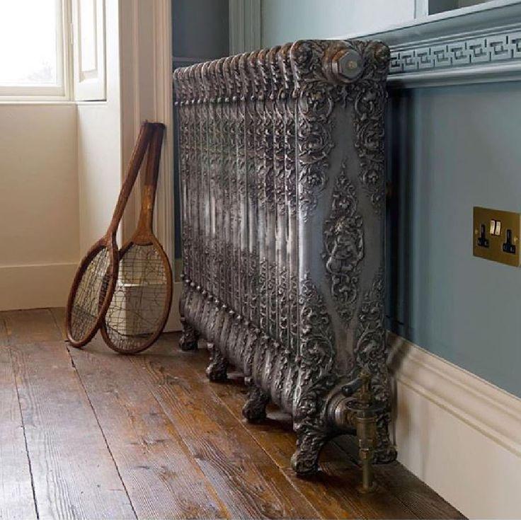 CINIER BELLE EPOQUE cast iron radiator - Patiné main.  Radiateurs Fonte BELLE EPOQUE - CINIER, couleur Patiné main.