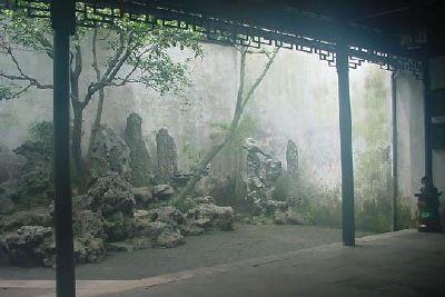 GARDEN of CULTIVATION ..  Suzhou Gardens ... Morning Mist Enshrouds the Gardens