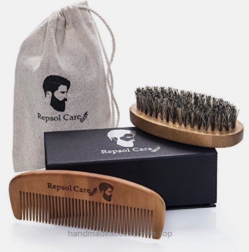Repsol Care Natural Boar Bristle Beard Brush and Handmade Beard Comb Kit for Men Beard and Mustache  Check It Out Now     $18.97       Why choose Repsol Care?     Our vision was making a superior beard kit that will answer all your beard needs. Su ..  http://www.handmadeaccessories.top/2017/03/15/repsol-care-natural-boar-bristle-beard-brush-and-handmade-beard-comb-kit-for-men-beard-and-mustache/