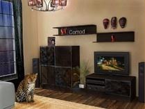 Модульная мебель для гостиной Доминик от ведущего Российского производителя мебельной фабрики Comod.Модульная стенка Доминик.Модульная система Доминик для гостиной комнаты и спальни.Большое количество модулей (мини-стенка,угловые шкафы,шкафы для одежды,тумбы под телевизор,стеллажи,кровати,тумбы прикроватные,стенка,модульная мебель для гостиной,в гостиную) поможет Вам собрать свою неповторимую гостиную.