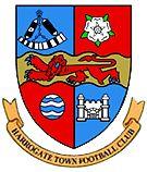 1914, Harrogate Town F.C. (Harrogate, North Yorkshire, England) #HarrogateTownFC #UnitedKingdom (L14357)