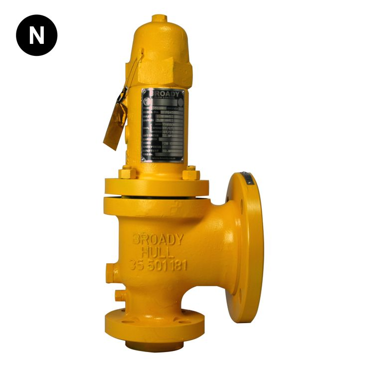 Broady 3500 Safety Relief Valve (UK Castings)