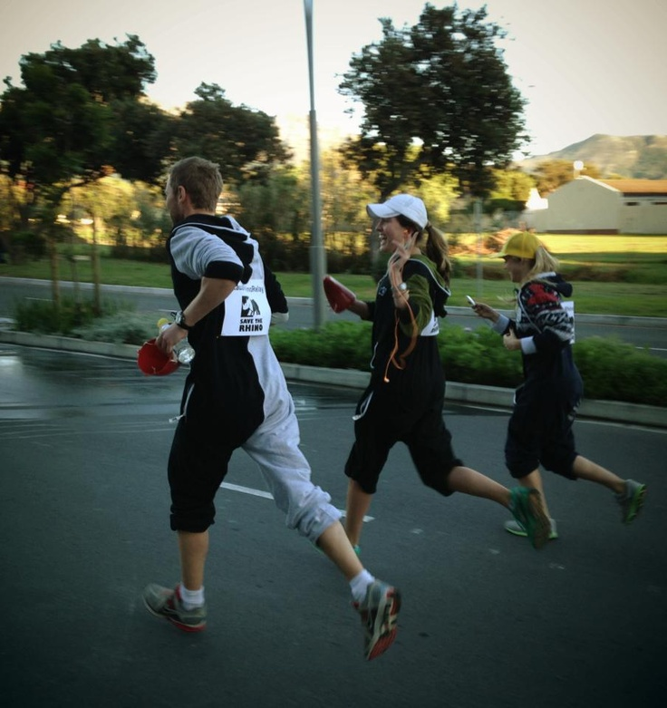 One UP team running Kauai Rhino Relay