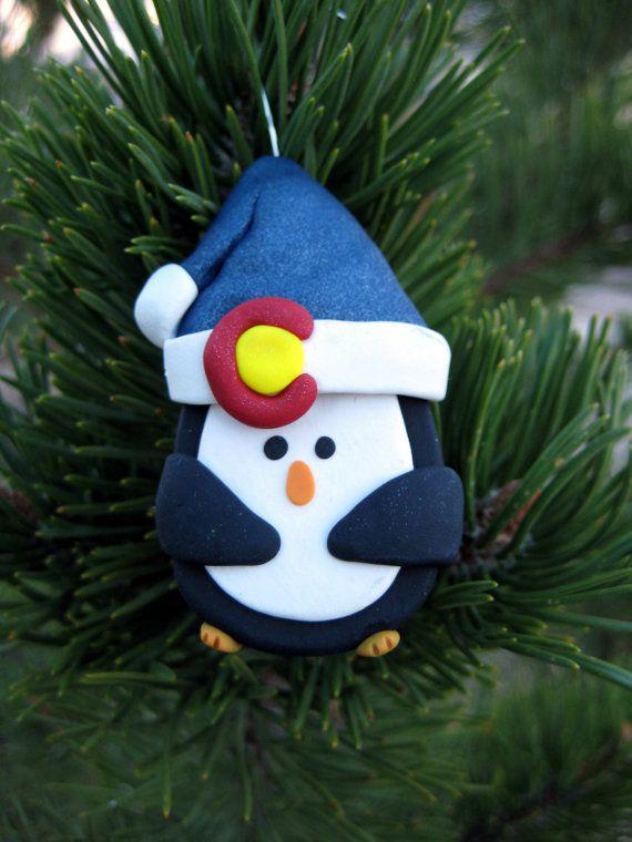 Superior Colorado Christmas Ornaments Part - 4: Colorado Christmas Ornament Penguin By WeAreColoradoCrafts