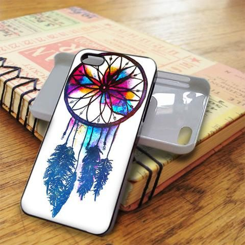 Dream Catcher Nebula Abstract Water Color iPhone 5C Case