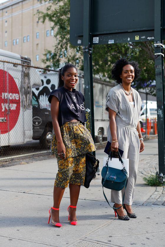 NYFW SS13 Street Style // Rajni and Nicole