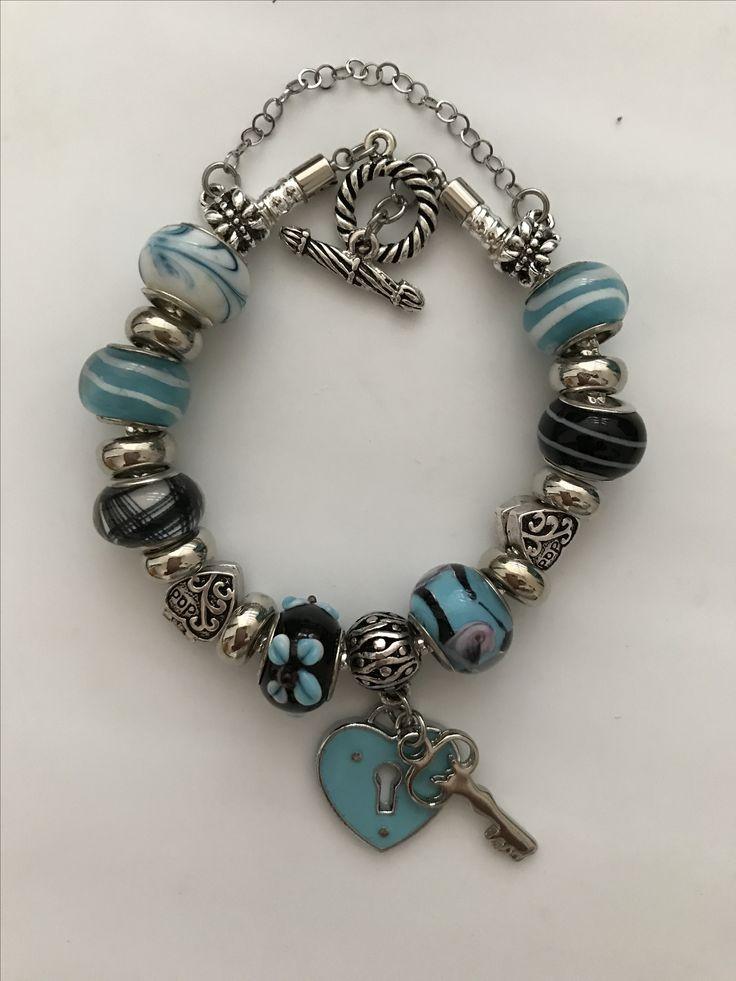 Pandora corazón y Feliz llave