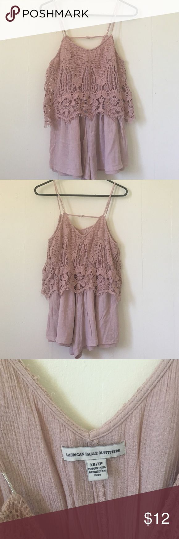 American Eagle Romper Not sold in stores anymore   Good Condition   American Eagle Outfitters Dresses
