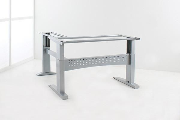A Total Workhorse L-Shaped Standing desk for Maximum Weight Capacity and Usage The frame is a true beast and combined with its BOSCH motor it gives you the ulti