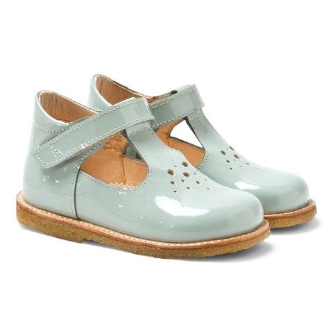 Angulus Mint T-Bar Shoes | Pastels | AlexandAlexa