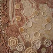 """Картины и панно ручной работы. Ярмарка Мастеров - ручная работа Картина из ниток нетканый гобелен """"Феерия"""". Handmade."""