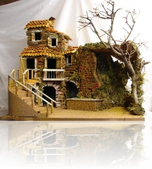 Students can use found objects to construct a small building.  http://www.pinterest.com/source/presepidesimone.it/