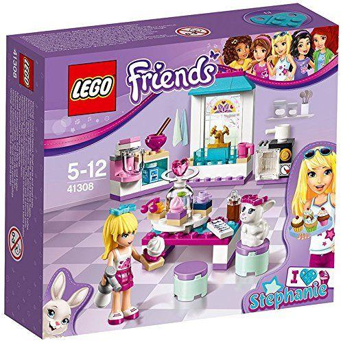 LEGO – 41308 – Friends – Les gâteaux de l'amitié de Stéphanie: Stéphanie et son lapin ont besoin d'aide pour préparer de délicieux cupcakes…