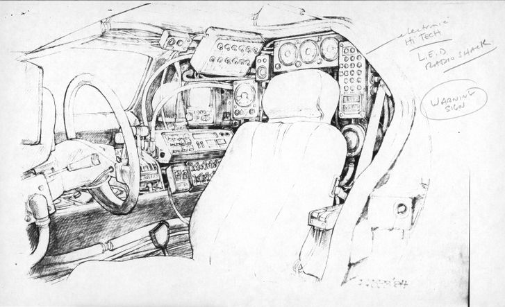 Back To The Future II concept drawings - photo 3