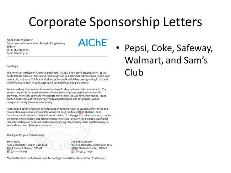Image Result For 5k Sponsorship Letter Sponsorship