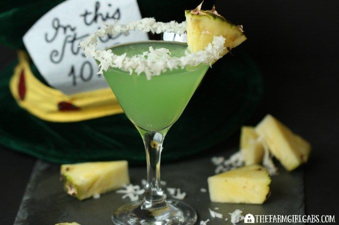Mad Hatter Martini