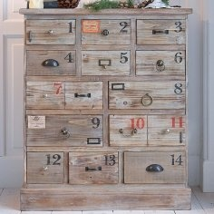 love that these are numbered. I have my eye on another type of but kind of similar furniture, with even more drawers and now this idea with numbers is just genius ;-)